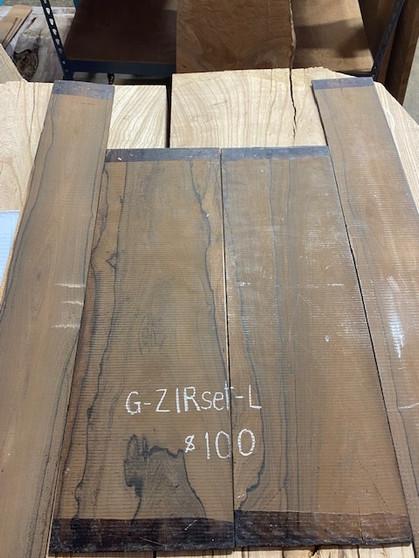 Guitar  S & B   in Ziricote    G-ZIRset-L