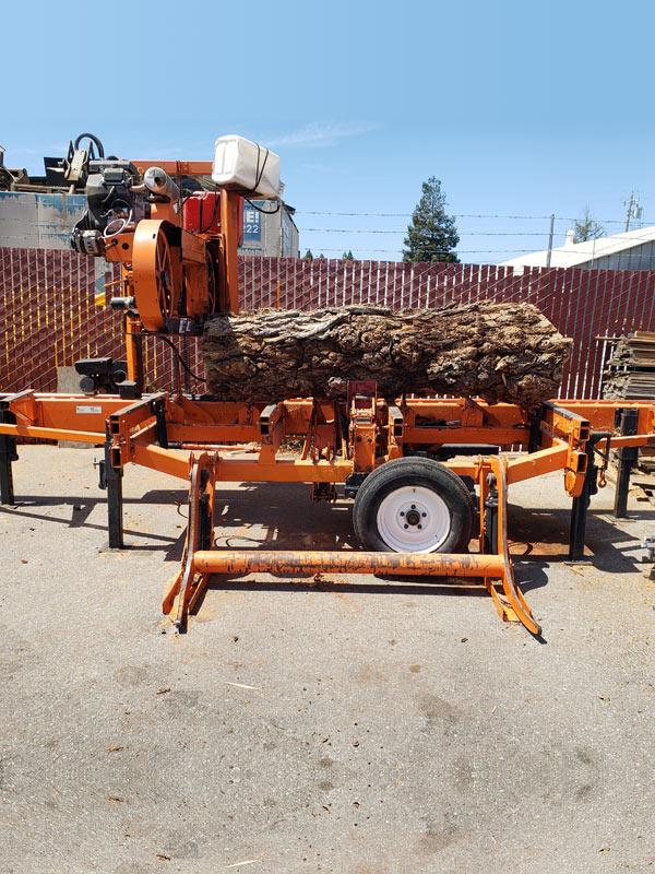 Log/Lumber Milling: Woodmizer LT40