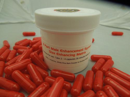 Red Capsule - Size Enhancement Catalyst
