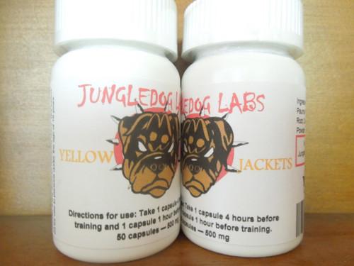 Yellow Jackets - ~Muira Pauma Root Powder, Suma Root Powder, Cordyceps Powder.