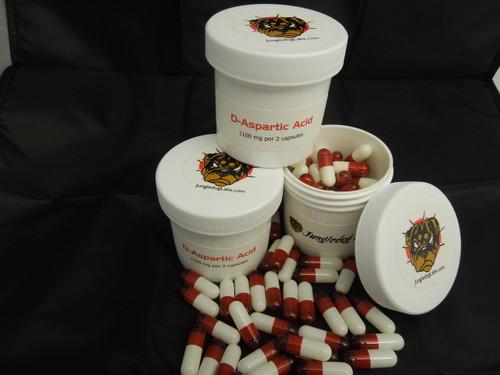D-Aspartic Acid DAA 1000 mg
