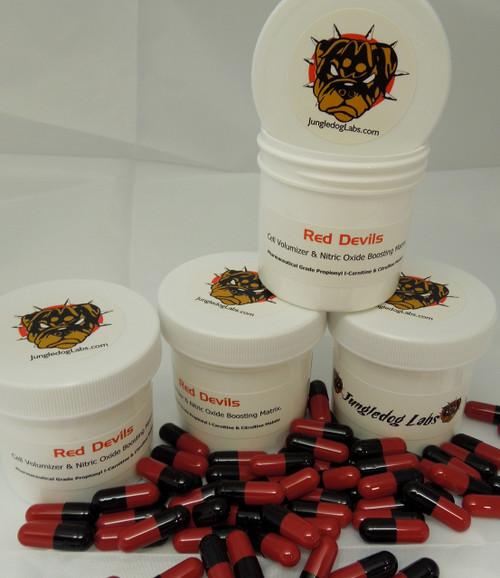 Red Devils - Pharmaceutical Grade Propionyl L-Carnitine & Citrulline Malate