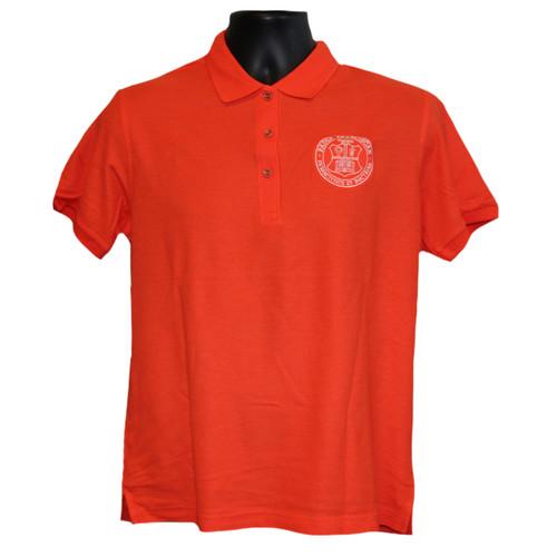 Girls Uniform Polo - Orange