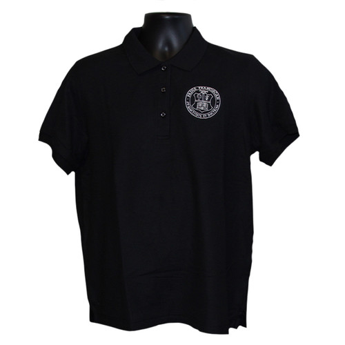 Girls Uniform Polo - Black