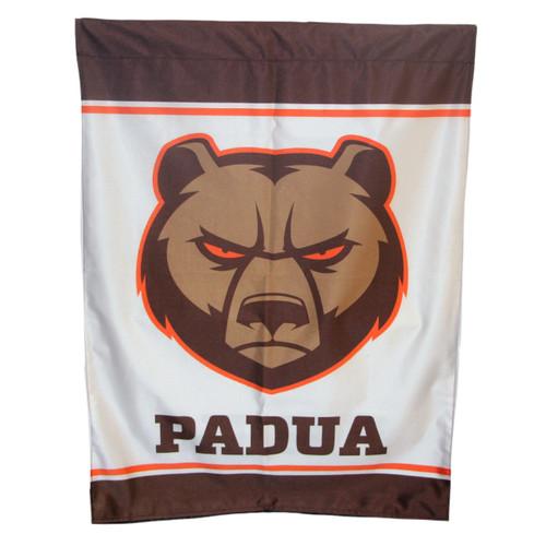 """Padua Bruin Head House Flag - 28""""x40"""""""