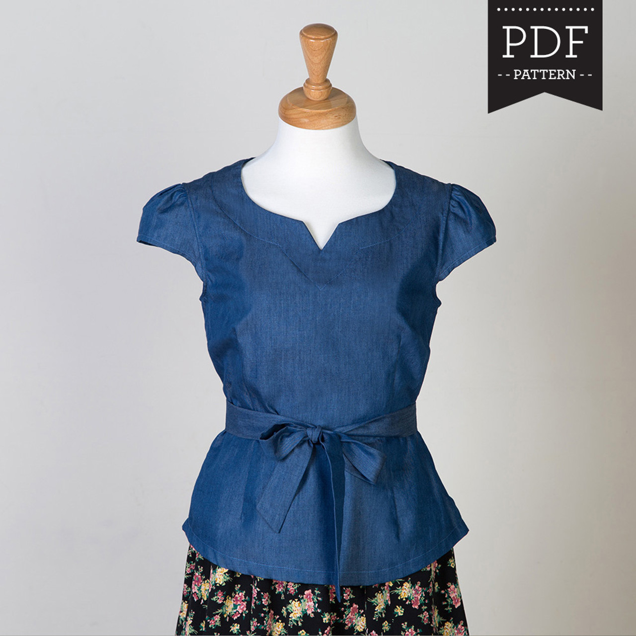 womens fitted shirt pattern