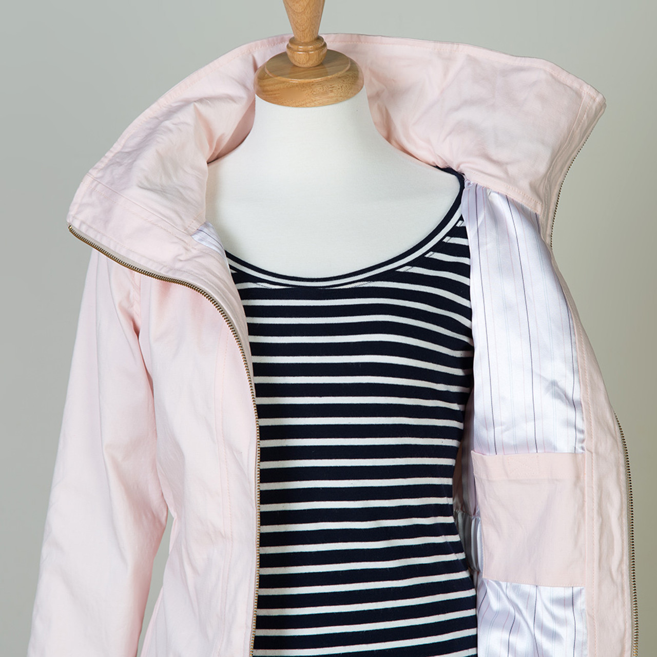 Minoru Jacket sewing pattern by Sewaholic Patterns, zip front jacket ...