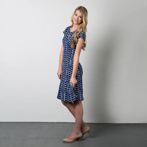 fe1b8990c Davie Dress sewing pattern by Sewaholic Patterns with keyhole ...