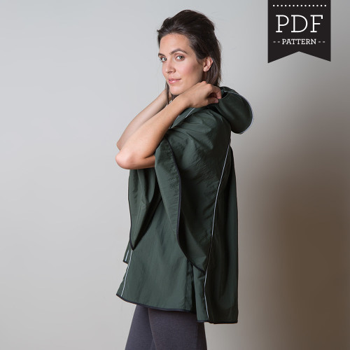 Instantly download PDF jacket and coat sewing patterns and