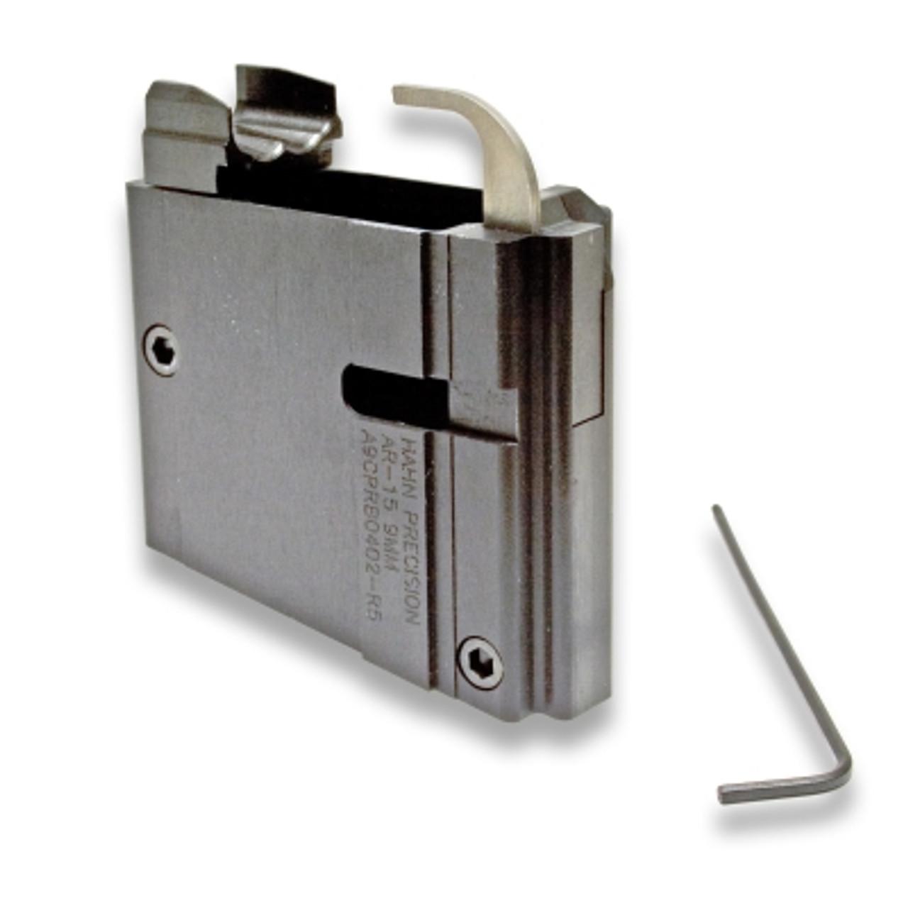 Hahn Precision Bottom 9mm MagWell Block