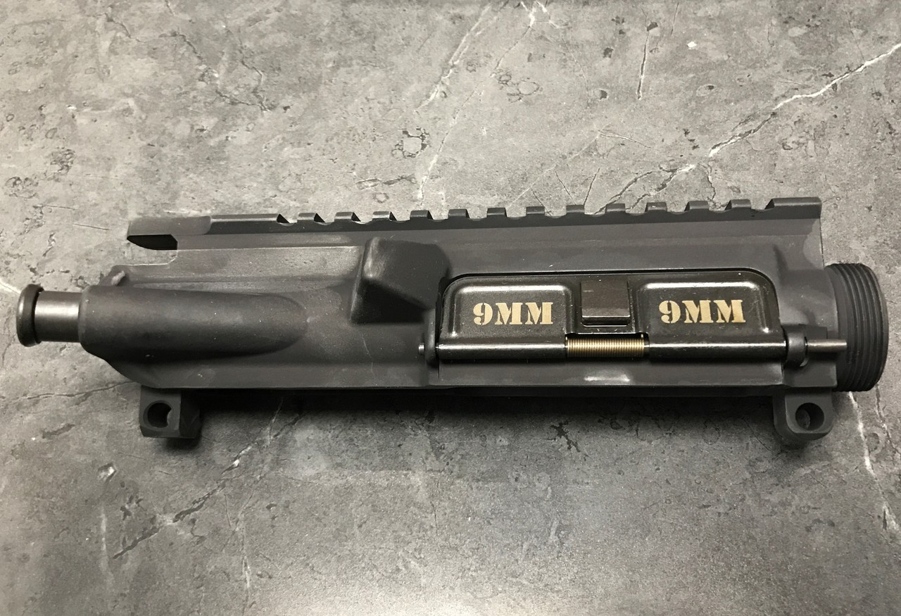 YHM Standard Upper Receiver With 9mm Marked Dust Cover