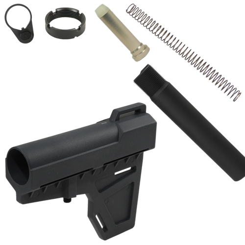 KAK Shockwave Blade Pistol Stablizer Kit - Black
