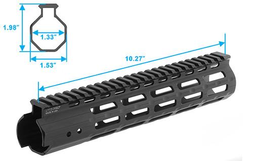 "UTG Pro M-LOK Free Float Handguard - 10"""