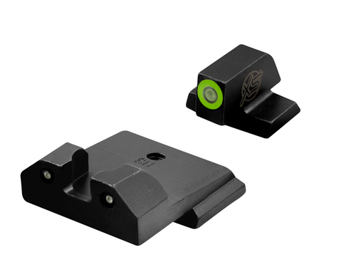 R3D Tritium Night Sights green for Smith and Wesson