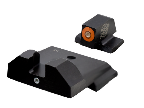 F8 Tritium Night Sights  orange for Smith and Wesson