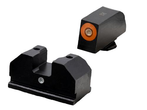 F8 Tritium Night Sights  orange for Walther