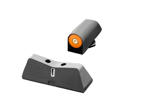 DXT2 Tritium Night Sights orange for Glock