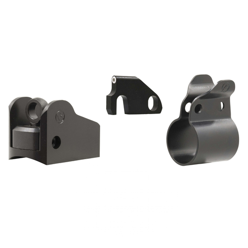 Winged Ghost Ring and Banded Standard Dot Tritium front  for Mossberg 500, 590, Standard barrel