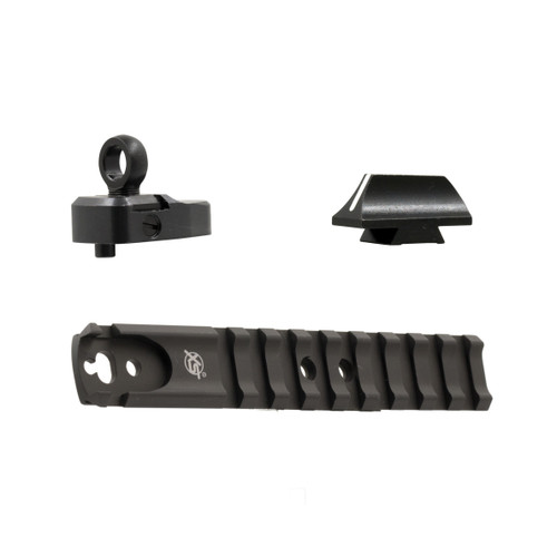 Rail, Ghost Ring and White Stripe front for Mossberg Shotguns