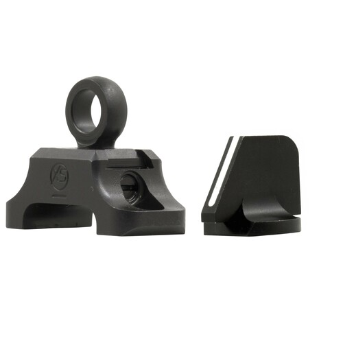 Ghost Ring Aperture Sights for Legacy-Rossi-Winchester 92 angled view