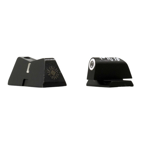 DXT Standard Dot Night Sights for Canik TP9 angle