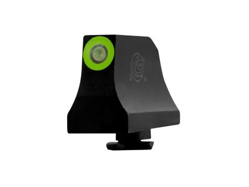 Bargain Bin Glock 3Dot Suppressor Front Green
