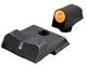 DXT2 Tritium Night Sights orange for Smith & Wesson Shield 380 EZ