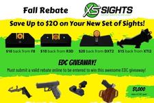 Fall Rebate