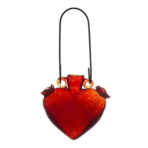 Heart Shaped Hummingbird Feeder