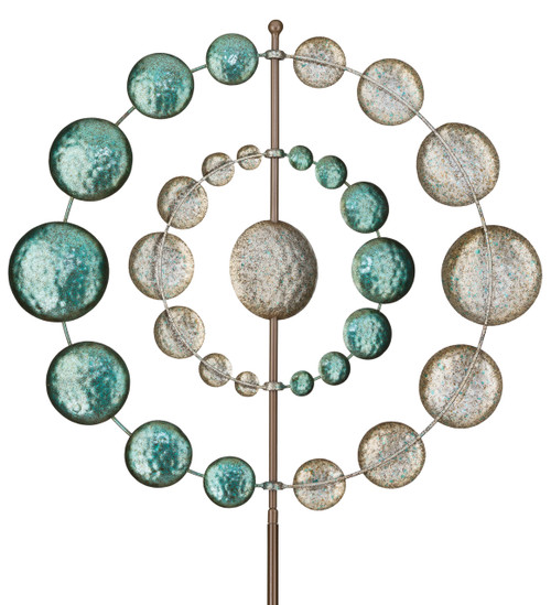 "32"" Kinetic Garden Whirilgig - Orbit"
