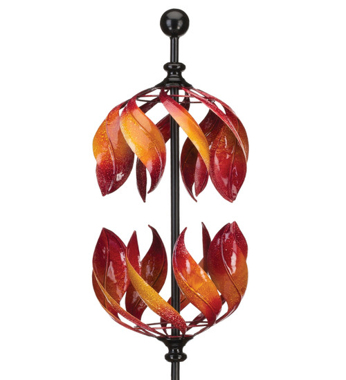 Copper Double Flame Whirligig