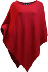 Poncho Red Front