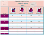 Blouse Measurements