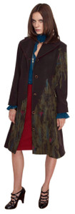Sale 100% Merino Wool Felted Frock Coat - Monet