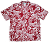 Wild Pineapple - Red - 100% Rayon