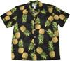 Maui Pineapple Black - 100% Cotton