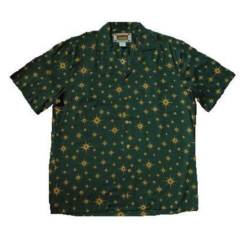 North Star - Men's 100% Rayon Hawaiian Shirt - On Sale!