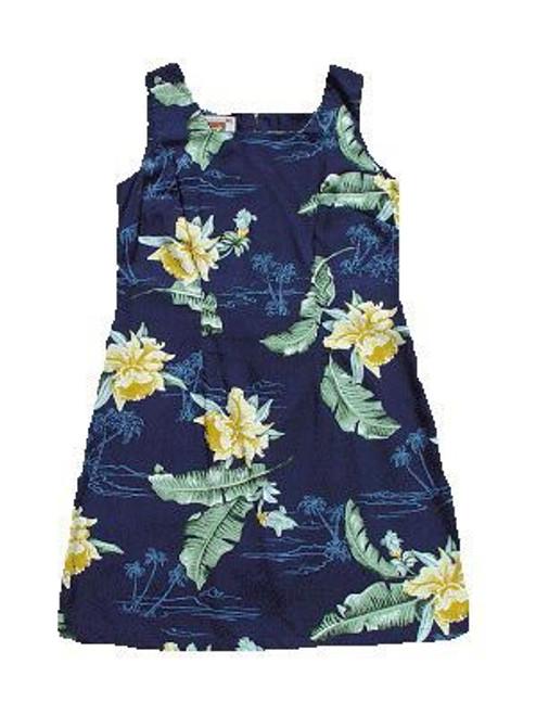 Big Island Orchids Short Tank Dress
