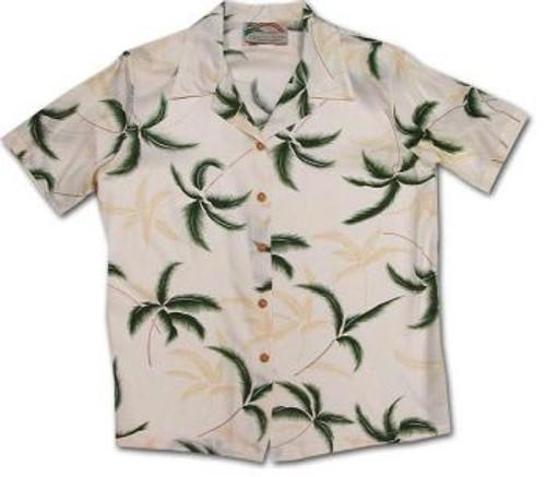 Hurricane Womens Hawaiian Camp Shirt
