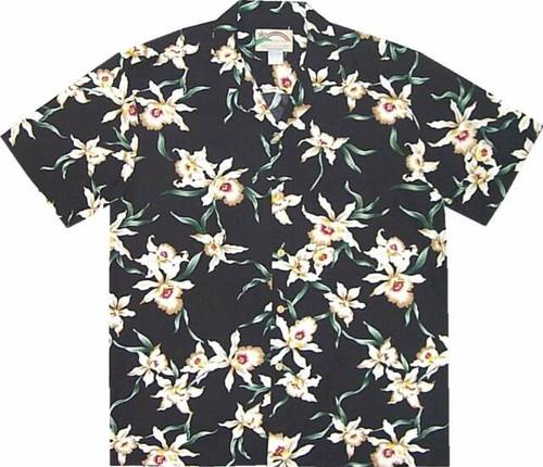 Magnum PI's Star Orchid Hawaiian Shirt -100% Rayon