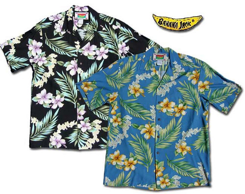 O'Lei Hibiscus Men's Hawaiian Shirts
