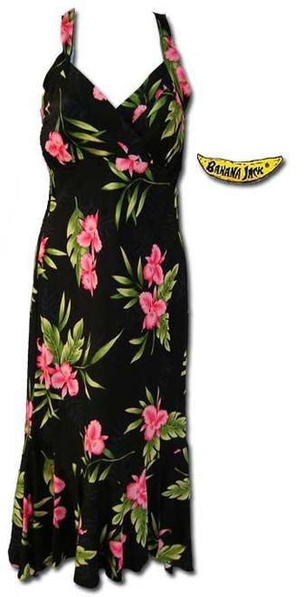 Manoa Valley Hawaiian Halter Dress