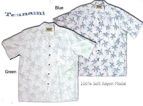 Tsunami Men's Hawaiian Shirts