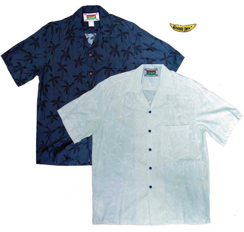 Coconut Palm Men's Hawaiian Shirts