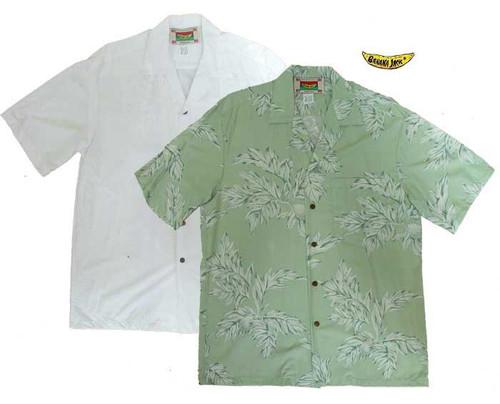 Island Ulu - Men's 100% Rayon Hawaiian Shirts