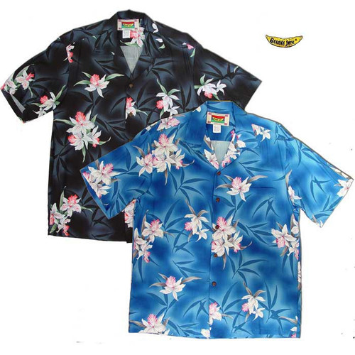 Vintage Orchid Men's Hawaiian Shirts
