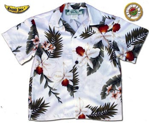 Boys Hawaiian Breeze Aloha Shirt