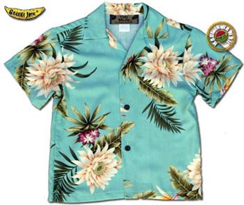 Boys Princeville II Hawaiian Shirt