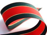 #2565 Striped Christmas Grosgrain