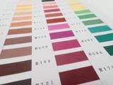 Color Card #6500 / Rayon Seam Binding